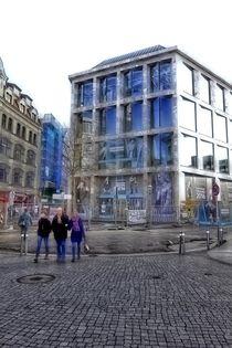 Leipzig, Neubau Große Fleischergasse, Ecke Hainstraße by langefoto