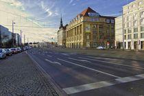 Leipzig, Tröndlinring Richtung Westen by langefoto