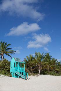 Flamenco Beach Culebra Island Lifeguard House von Matilde Simas
