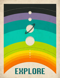 SOLAR SYSTEM - COLOUR by Jazzberry  Blue
