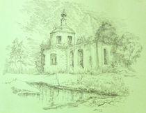 A ruined church. Spring by Aleksandr Petrunin