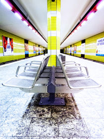 Yellow Station von Steffan  Martens