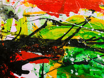 Abstract acrylic1 von Liudmyla Rozumna