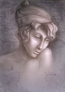 Greek woman Sapho by zvezdochka