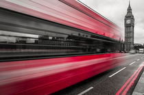 London Westminster Bus I von elbvue by elbvue
