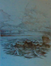 Sea.After storm by Aleksandr Petrunin
