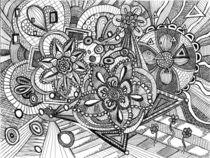 Day Flower Doodle von anel