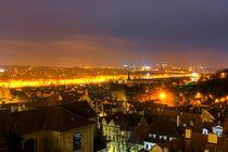 Prag bei Nacht von Focal Fokus