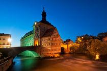 Altes Rathaus von Bamberg by Frank Mitchell