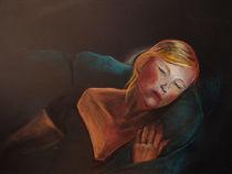 "Schlafendes Mädchen by Dorothea ""Elia"" Piper"