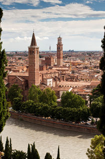 View of Verona by Sergey Tsvetkov
