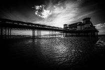 Weston Pier in Mono  von Rob Hawkins