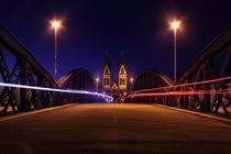 Wiwilibrücke Freiburg von Patrick Lohmüller