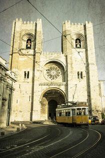 Cathedral Tram line  von Rob Hawkins