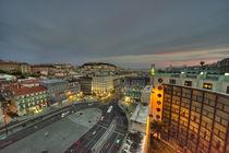 Lisbon Twylight  von Rob Hawkins