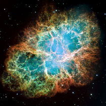The Crab Nebula von Stocktrek Images