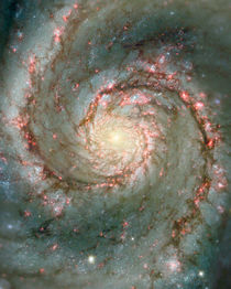 M51, also known as NGC 5194 von Stocktrek Images