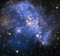 The Small Magellanic Cloud by Stocktrek Images
