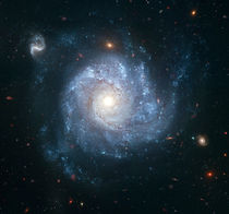 Spiral galaxy NGC 1309. von Stocktrek Images