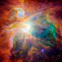 The Orion Nebula.  by Stocktrek Images