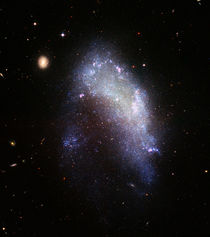 Irregular galaxy NGC 1427A. von Stocktrek Images