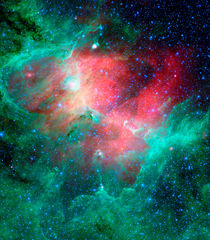 The Eagle nebula von Stocktrek Images