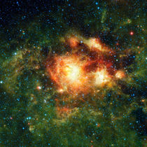 NGC 3603, a young star cluster in the Milky Way. von Stocktrek Images