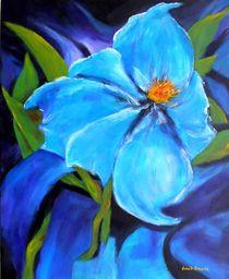 Blaue Blume von Eberhard Schmidt-Dranske