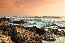 ocean sunset von Rosina Schneider