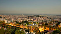 Barcelona Skyline  by Rob Hawkins