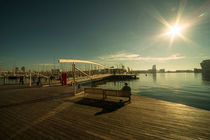 Barcelona Waterfront  by Rob Hawkins