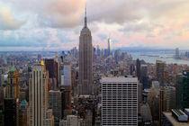 New York von oben von Patrick Lohmüller