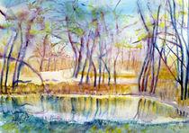 Landschaft am Wasser by Irina Usova