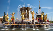 "Fountain ""Friendship of peoples""  by Sergey Tsvetkov"