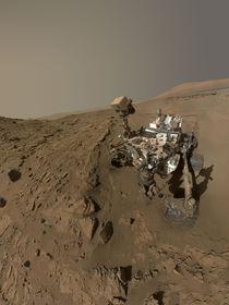 Mars selfie - Curiosity rover at Windjana by withsilverwings