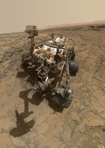 Mars selfie - Curiosity at Big Sky by withsilverwings