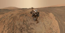 Mars selfie - Curiosity at Mojave by withsilverwings