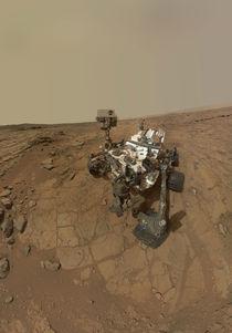 Mars selfie - Curiosity rover at John Klein by withsilverwings