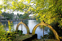 Bakewell Weir Sluice Gates by Rod Johnson
