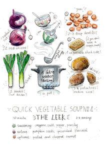 Leek Soup Chart von Julia Baraniecka