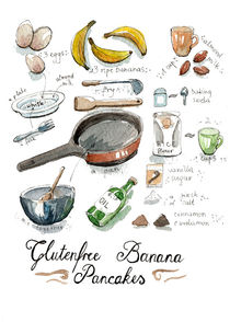 Banana Pancakes Chart by Julia Baraniecka
