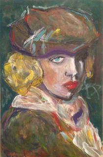 Mädchen mit Baskenmütze by Alexia Gietl