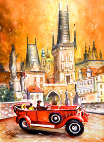 Prague Authentic 01 von Miki de Goodaboom
