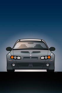 Modern Australian Icons: Holden Monaro HSV Z Series von monkeycrisisonmars