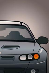 Modern Australian Icons: Holden Monaro HSV Z Series Split von monkeycrisisonmars
