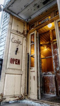 Café open von Johanna Knaudt