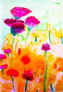 spring flowers von Maria-Anna  Ziehr