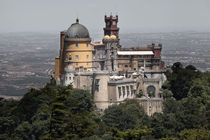 Pena palace in Sintra by Sergey Tsvetkov