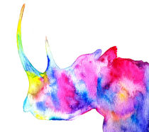 Rhinoceros, nature by Luba Ost