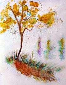 Lonely tree von Maria-Anna  Ziehr